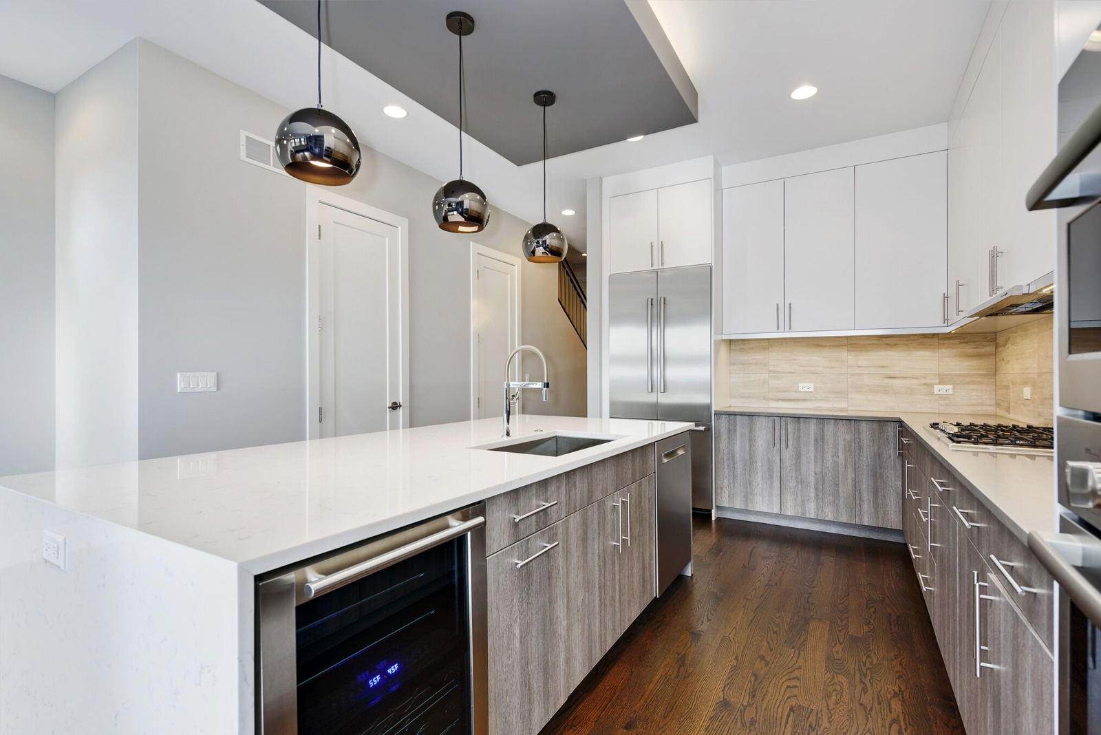 Logan Square Kitchen Remodeling